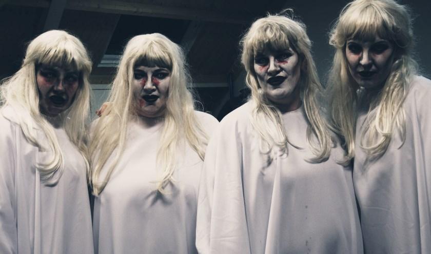 Het wordt schrikken tijdens Halloween in Hoessenbosch.
