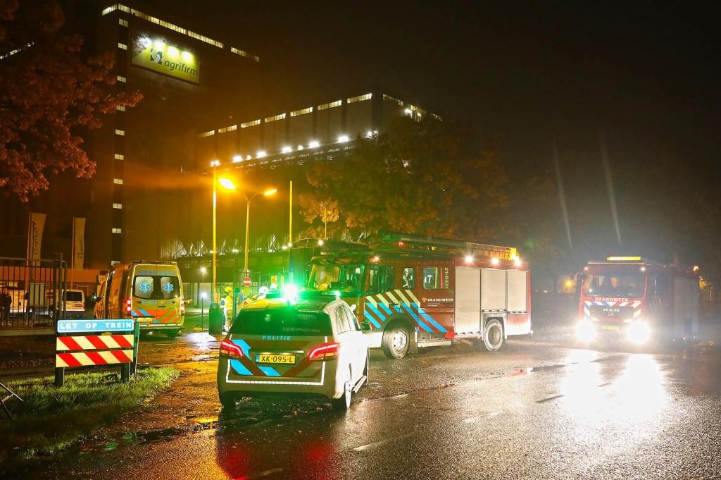 Gewonde bij ongeval met goederentrein in Oss. (Foto: Gabor Heeres / Foto Mallo)  © Kliknieuws Oss