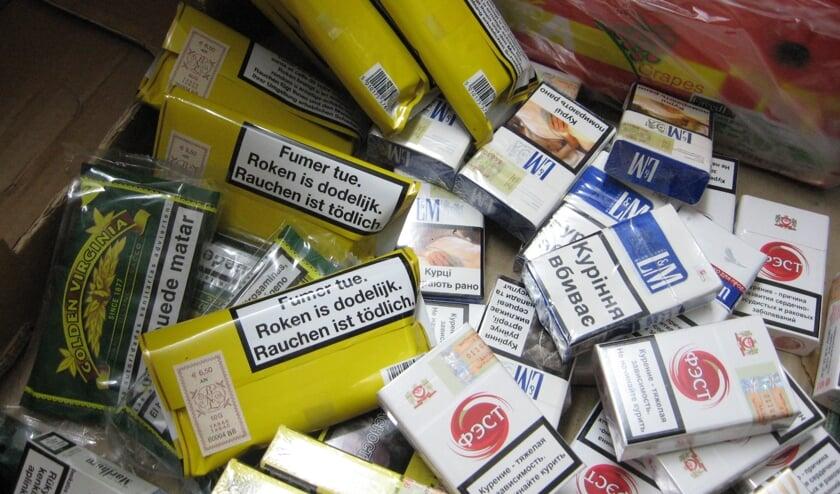 Sigaretten gestolen bij supermarkt in Sint Anthonis.