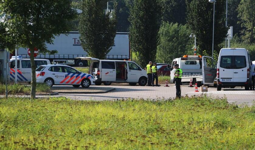 Afgelopen dinsdag vond in Cuijk een integrale controle plaats. Ook de politie deed mee.