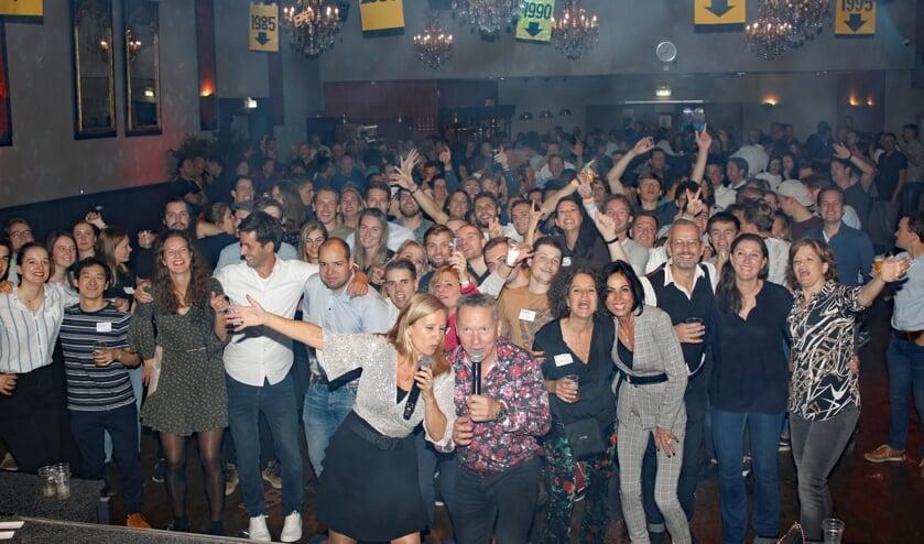 Grote opkomst bij reünie 70-jarig Elzendaalcollege Boxmeer in hotel Riche.