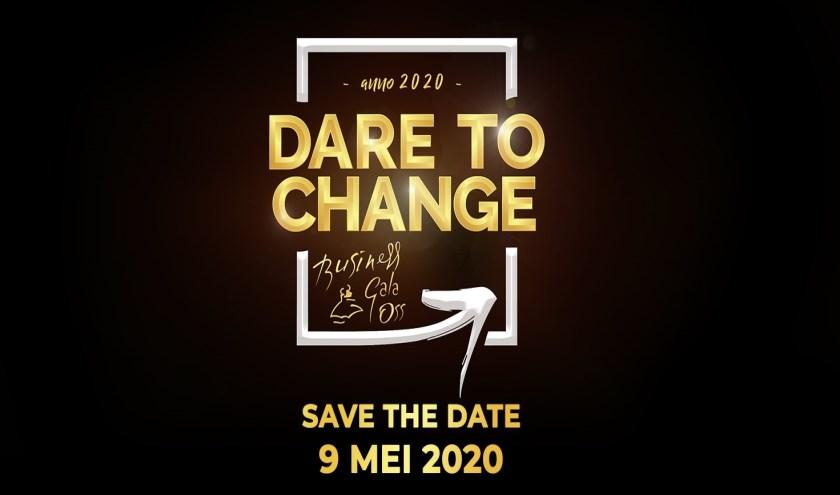 'Dare to change' nieuw thema van Business Gala Oss 2020