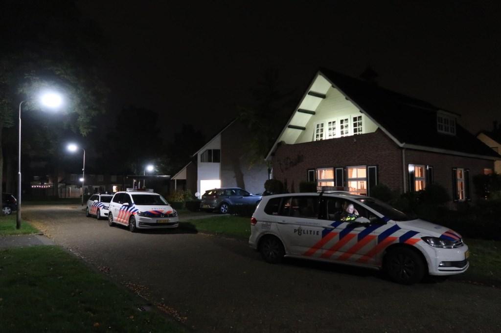 Politie onderzoekt beroving. (Foto: Gabor Heeres / Foto Mallo)  © Kliknieuws Oss