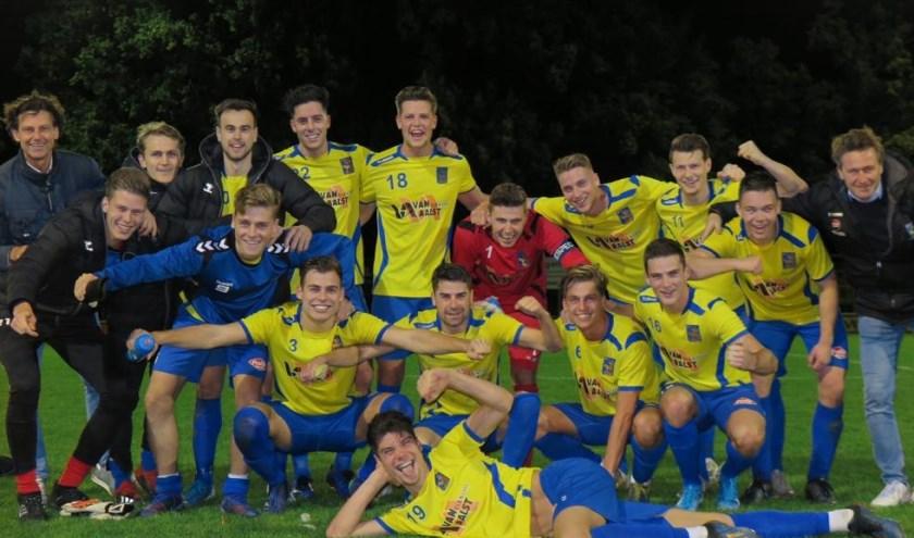 O.S.S.'20 speelt morgenavond tegen de profs van TOP Oss. (Foto: Jeroen Engelen)