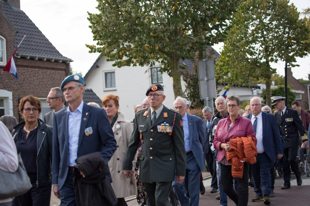 Overloon vierde en herdacht afgelopen zondag 75 jaar vrijheid en de 'Slag om Overloon' uit 1944. Foto: Albert Hendriks © Kliknieuws De Maas Driehoek