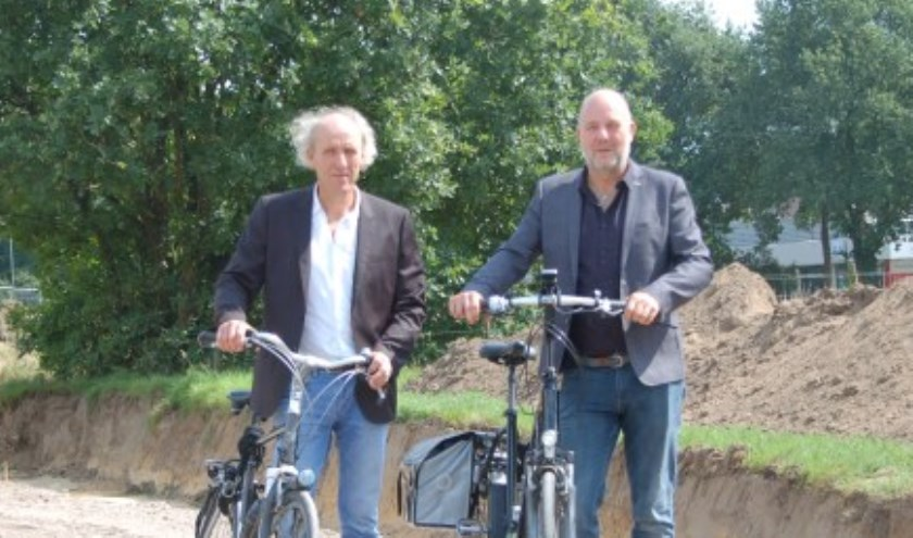 Pepijn Baneke (rechts) is benoemd tot tijdelijk vervangend wethouder in Mook en Middelaar.