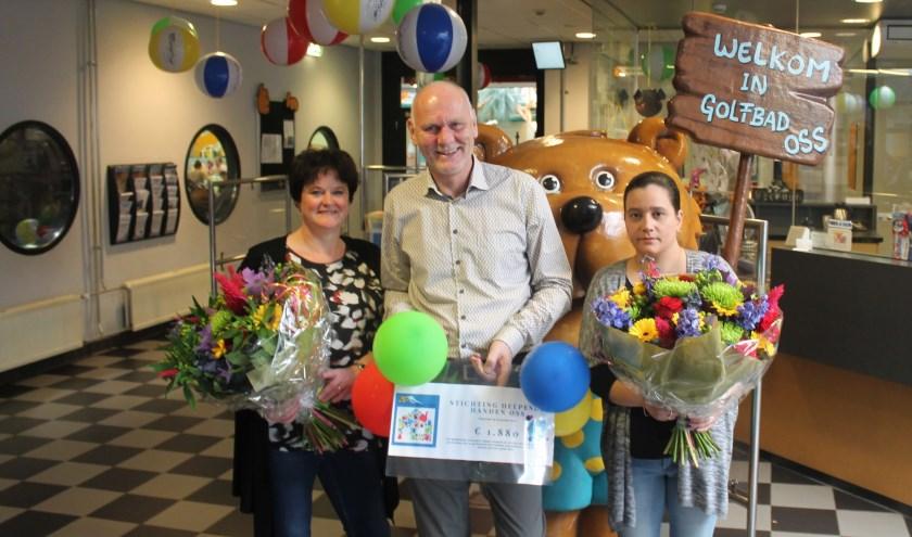 Rian Brands-van Boxtel, Peter Jongsma en Vanessa Heij.