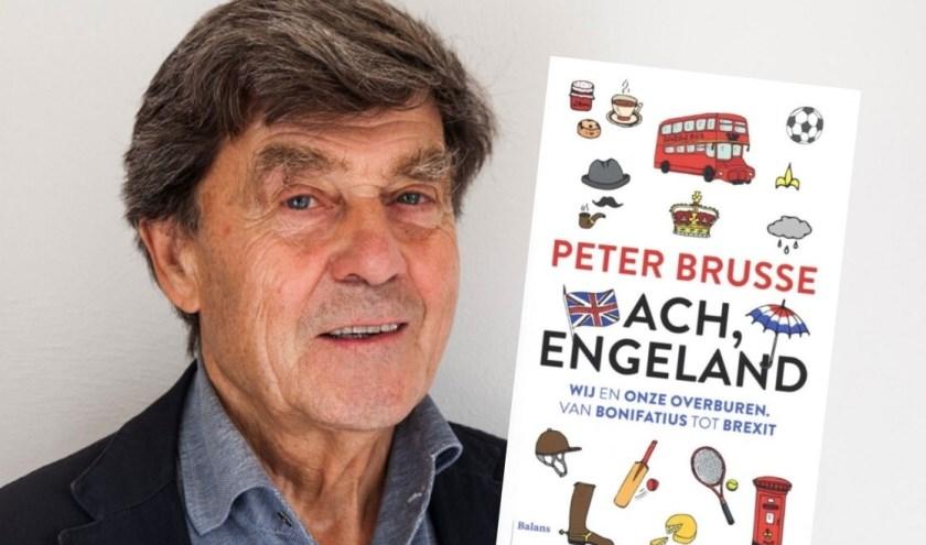 Peter Brusse houdt lezing over boek 'Ach, Engeland'
