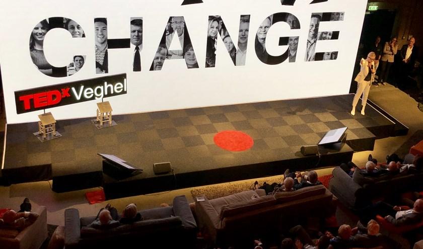 De drijvende kracht achter TEDxVeghel sloot het evenement vrijdag in stijl af.