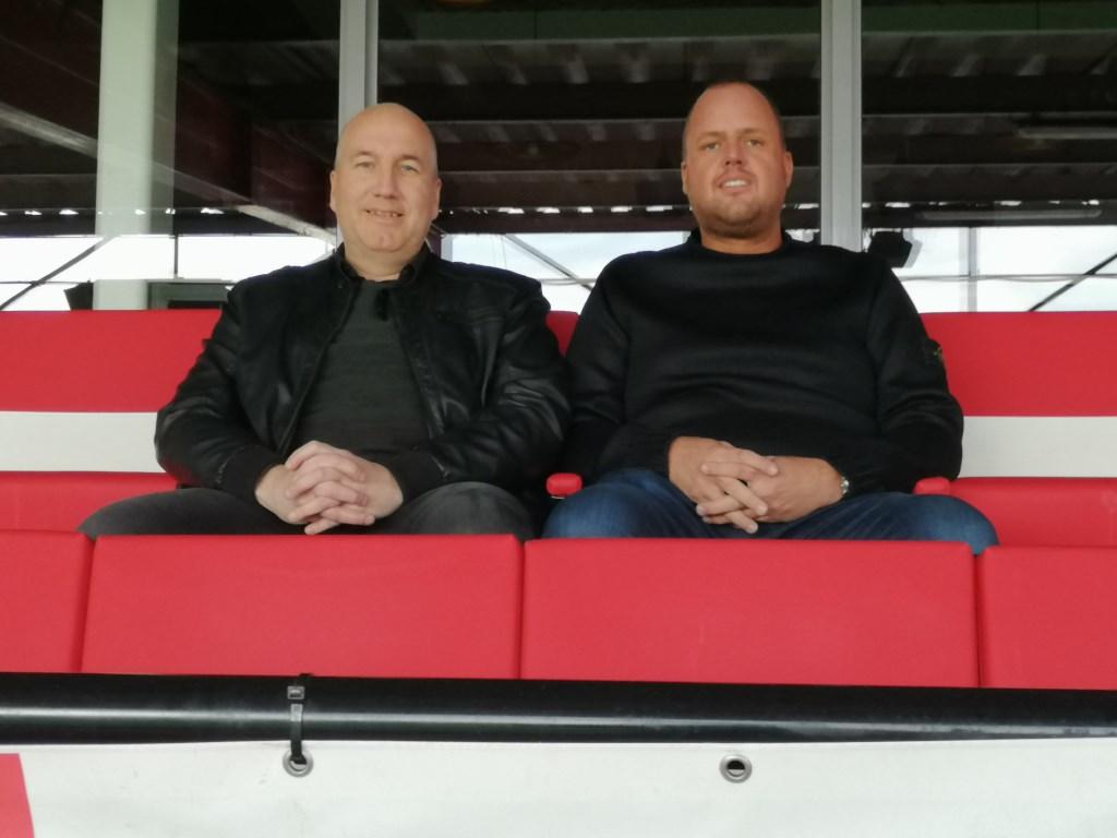Eric Reijnders en John Tiemissen.  © Kliknieuws Oss
