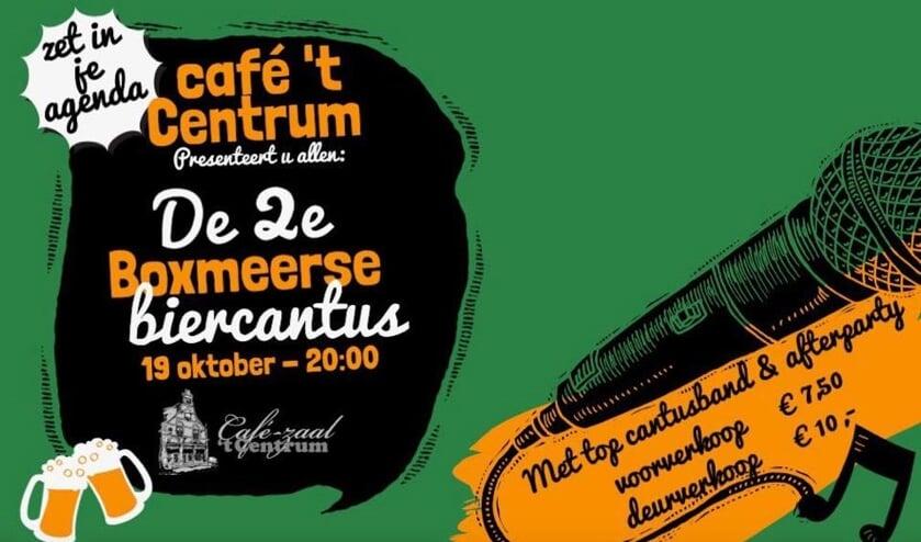 De Boxmeerse Biercantus bij Het Centrum beleeft de tweede editie.