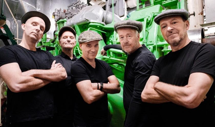 De mannen van Het Groot Niet Te Vermijden. (foto: Jan-Willem Bullee)