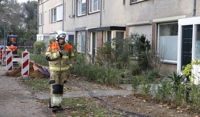 Gaslek aan Fazantenveld en Hermelijnkwartier in Cuijk.