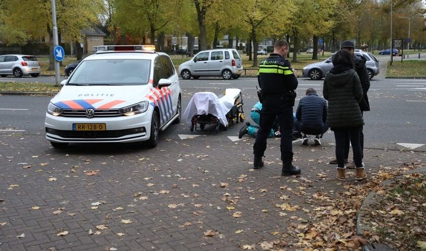 Ongeval op de Julianasingel. (Foto: Gabor Heeres / Foto Mallo)