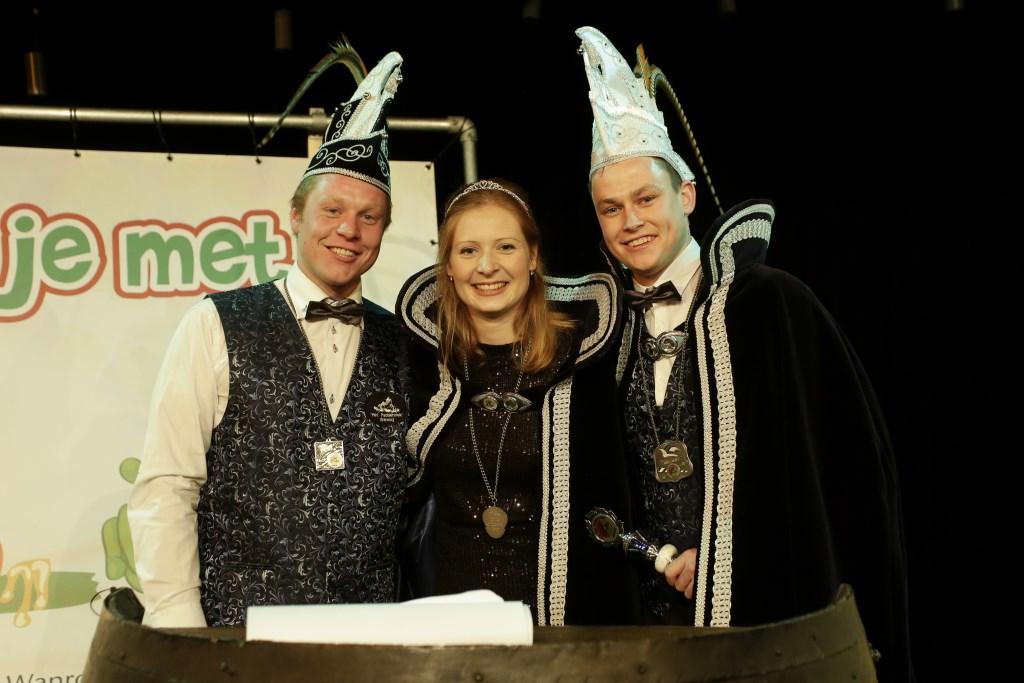 De heersers van de Padden en Paddinnen in Wanroij zijn Prins Rob d'n Urste en Prinses Janne. (foto: Perry v.d. Leuvert)  © Kliknieuws De Maas Driehoek