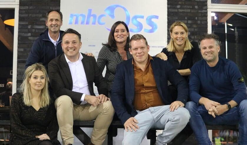 Het nieuwe bestuur van MHC Oss.