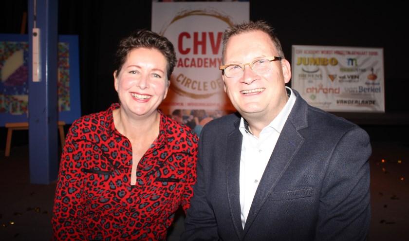 Barbara Brouwer, directeur Phoenix Cultuur en Marc van Kessel coördinator Muziek en CHV Academy zijn de initiatiefnemers van de 'Circle of Talent Meierijstad'.