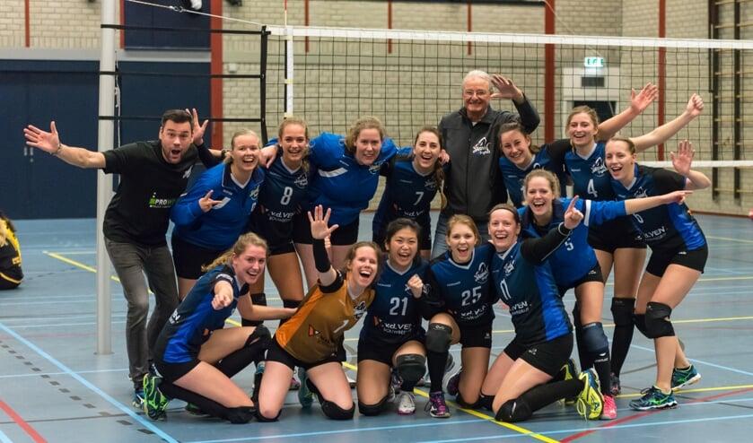 Skunk vrouwen eervol ten onder tegen kampioenskandidaat Volley-3
