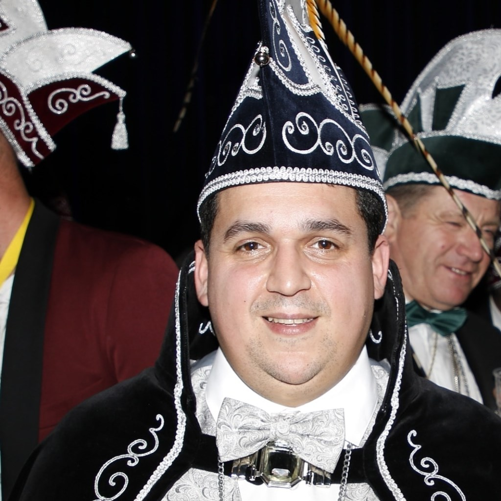 Marcel Raafs is de nieuwe prins van CV De Vèrkeskôp in Beugen.  © Kliknieuws De Maas Driehoek