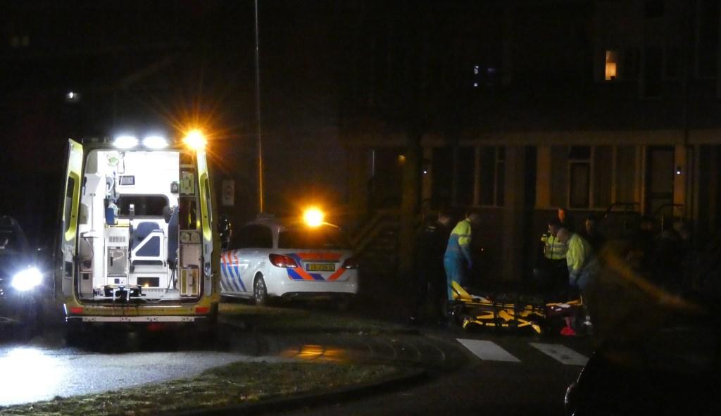 Man in scootmobiel gewond bij ongeval voor Winkelcentrum Ussen. (Foto: Thomas)  © 112 Brabantnieuws