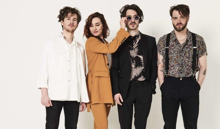 De vier bandleden.
