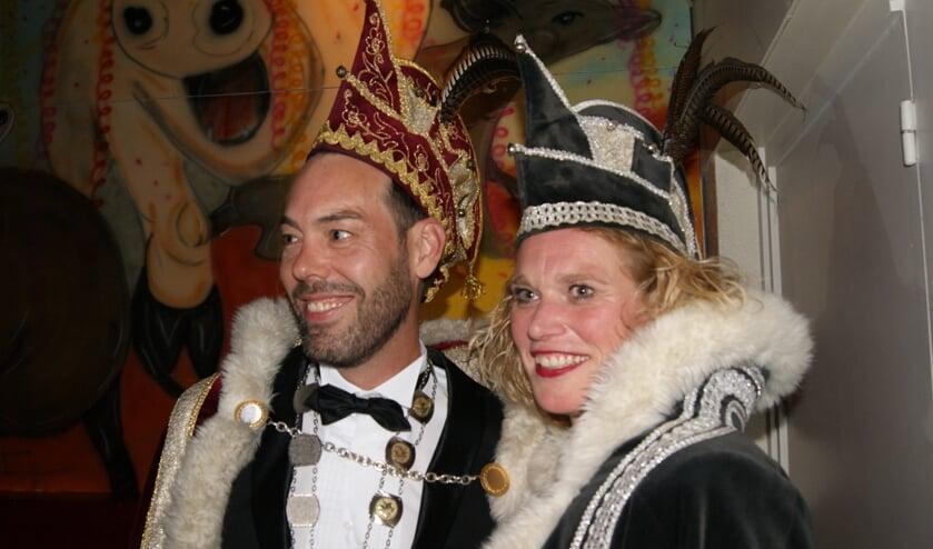 Prins Harold d'n Twidde en Adjudante Tanja.