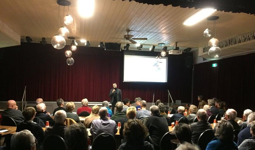 De informatieavond over de Woongemeenschap Binnentuin (i.o.) in 't Stekske in Stevensbeek werd afgelopen woensdag goed bezocht.