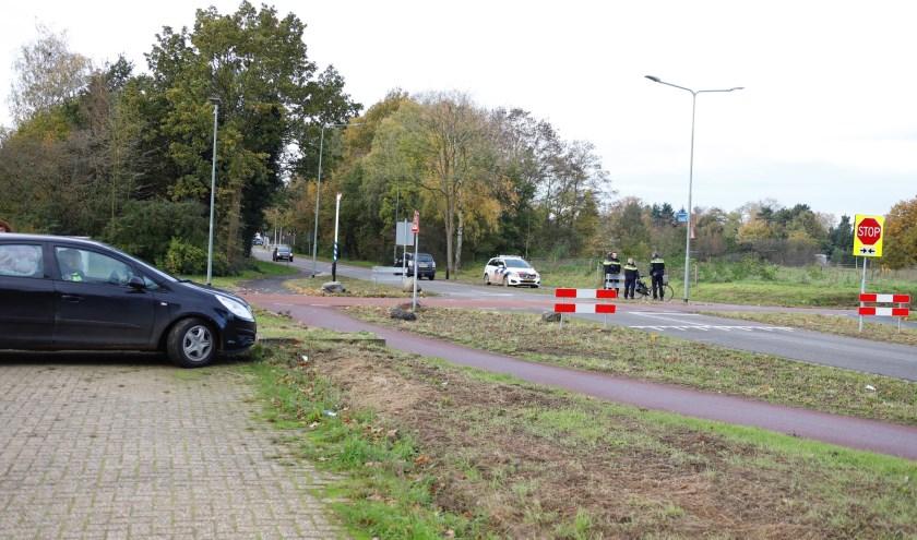 Fietster aangereden in Molenhoek.