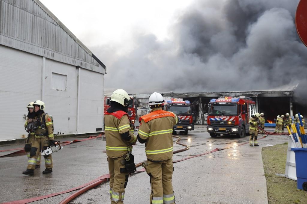 Brand in Oeffelt. Foto: SK-Media © Kliknieuws De Maas Driehoek