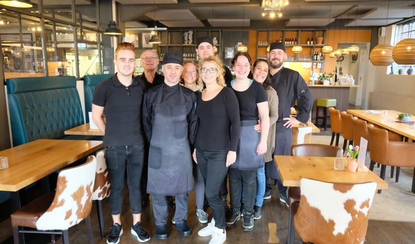 Het team van Lunchroom de Looierij in Cuijk.
