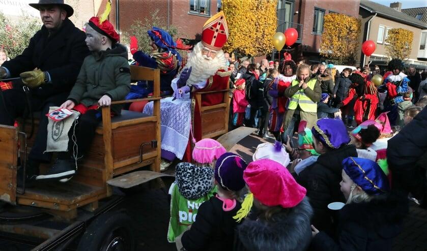 Sinterklaas in Heesch.