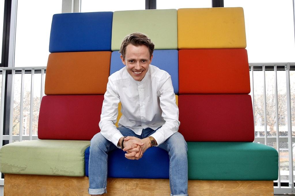 Ties van Dooren, hoofdredacteur van Stadskrant Veghel en Kliknieuws, is donderdag te gast. Foto: Ad van de Graaf © Kliknieuws Veghel