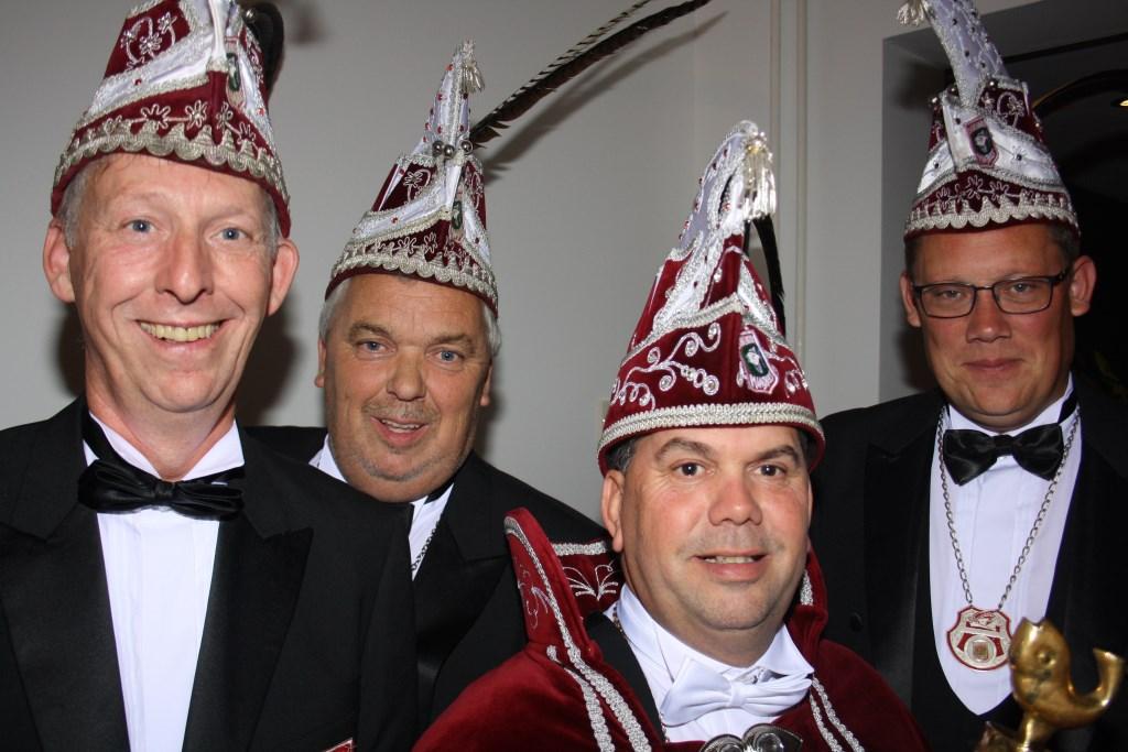 Prins Marius (van Boekel) d'n Urste is de 60ste carnavalsprins van de Bliekers in Maashees. Hij zal in zijn functie ondersteund worden door de adjudanten Wiljan Kersten, Jan Proenings en Frans Geurts.  © Kliknieuws De Maas Driehoek