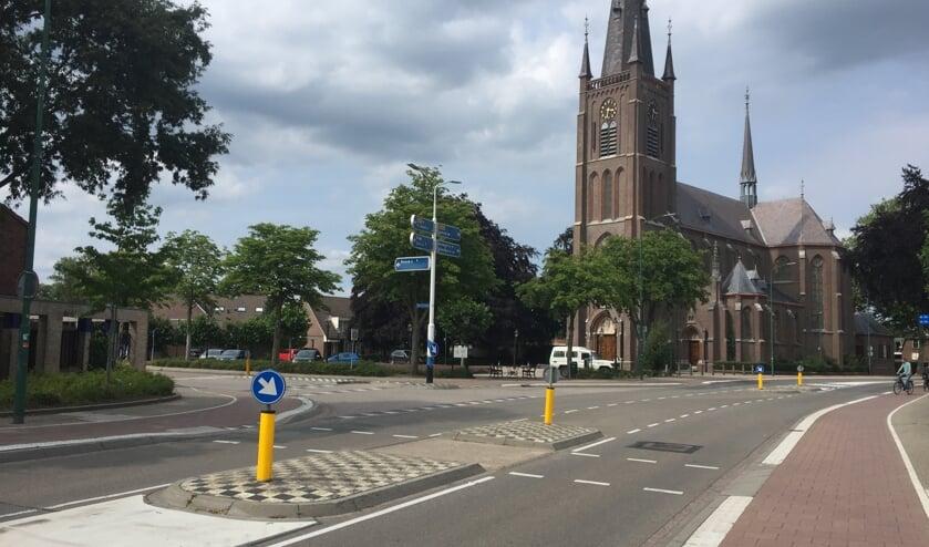 De Kerkstraat in Haps wordt onder handen genomen.