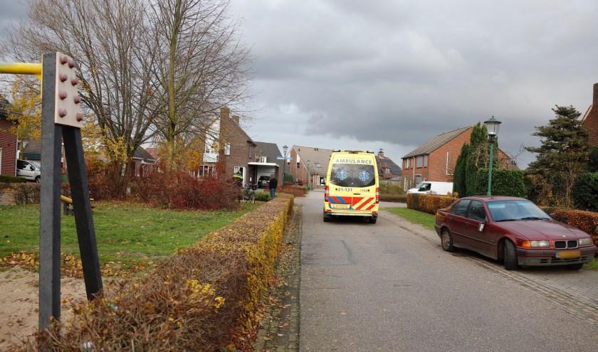 Fietsster gewond na aanrijding in Oploo.