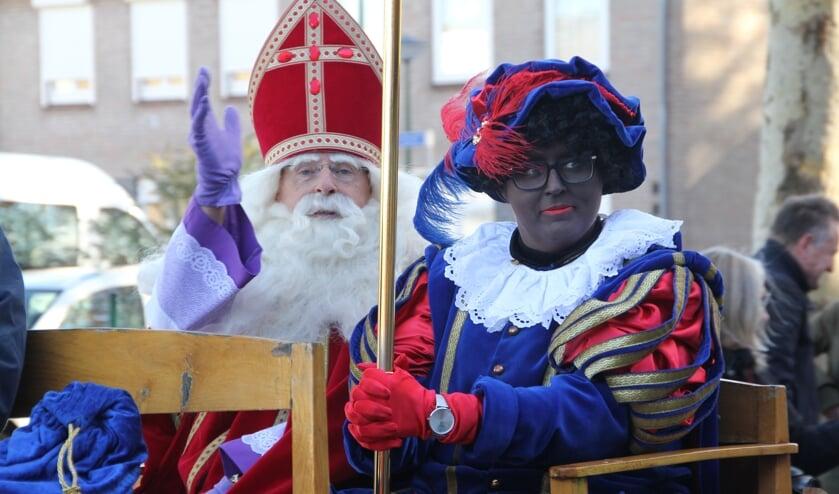 Natuurlijk komt Sinterklaas ook dit jaar naar Heesch. (Foto: Bram van Ravenstein)