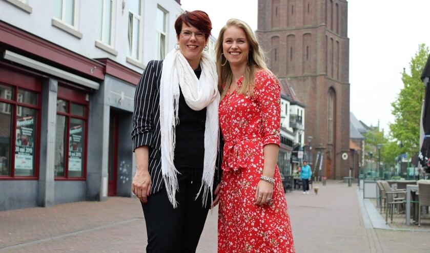 Lieke Verdijk en Naomi Goossens.