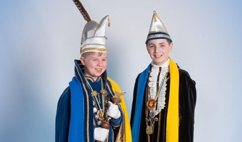 Jeugdprins Vic I en Adjudant Daan in Ossekoppenrijk