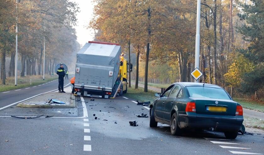 Ongeluk in Oploo.