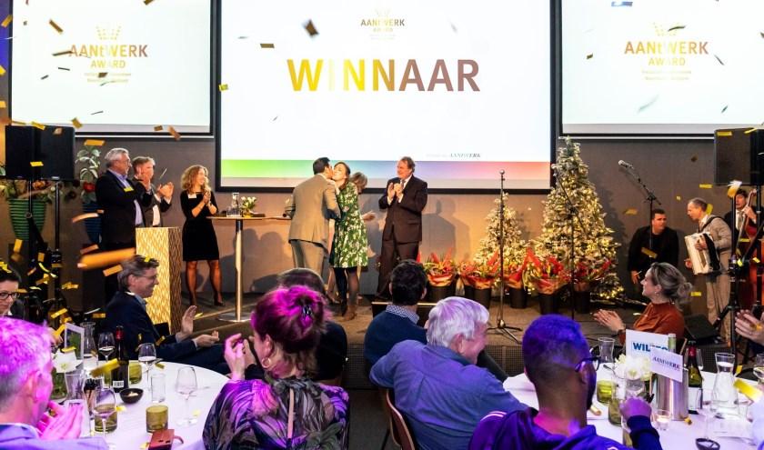 Berghemse vastgoedonderhoudsbedrijf Hendriks SGR de AANtWERK Award