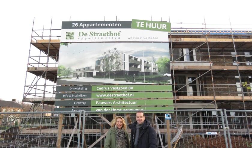 De Straethof: Verhuur van 26 unieke, luxe appartementen in Mill gestart.