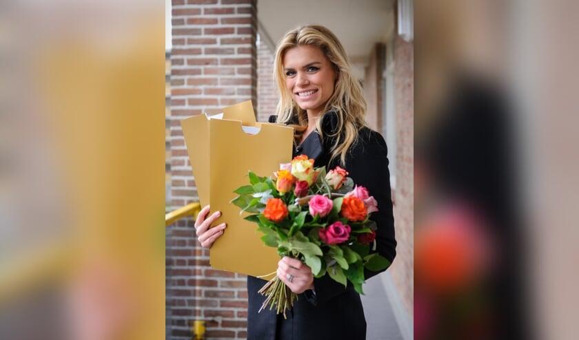 Loterij-ambassadeur Nicolette van Dam.