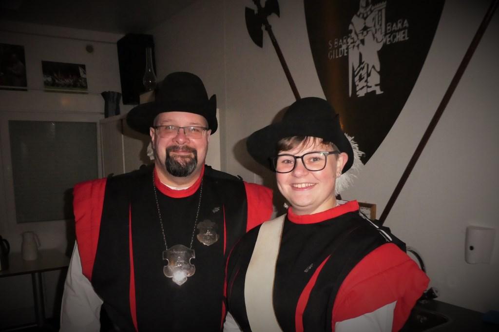 Maureen en haar vader Wim.   © Kliknieuws Veghel