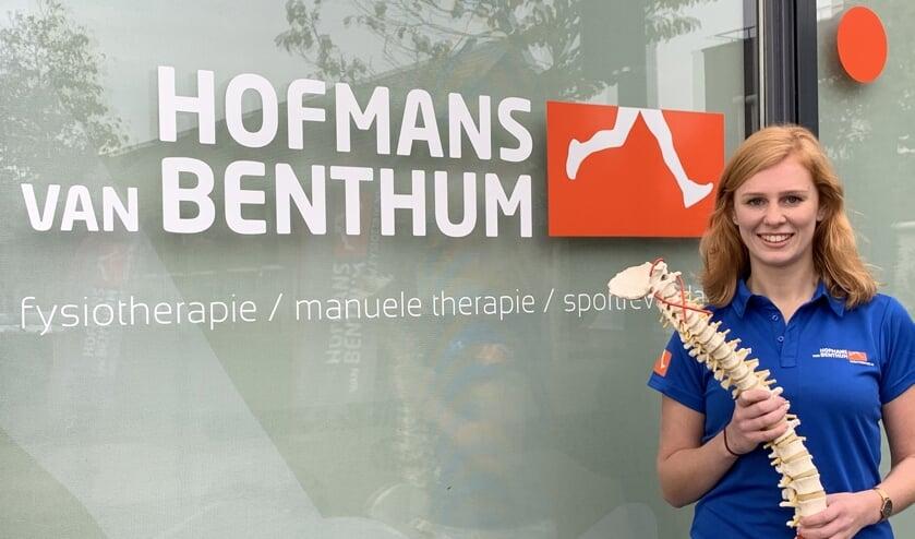 Sanne Janssen is osteopaat bij Fysiotherapie Hofmans Van Bentum.