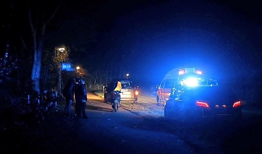 Man gewond na val met scooter in Heijen.