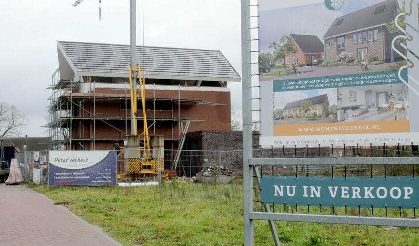 Nieuwbouwplan Den Eik in Westerbeek.