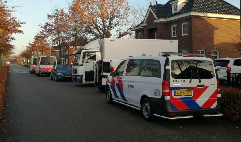 Opnieuw veel politie bij woning Koolzaadweg in Berghem
