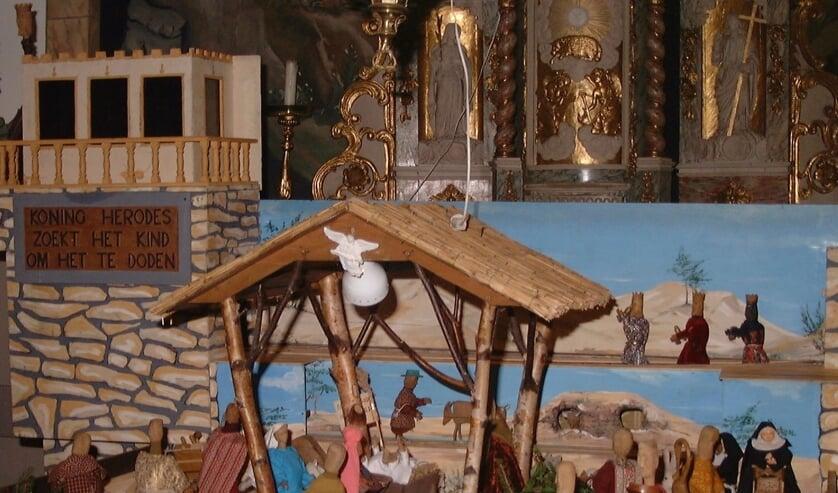 Een bezoek aan de bewegende kerststal is voor veel families een vaste traditie.
