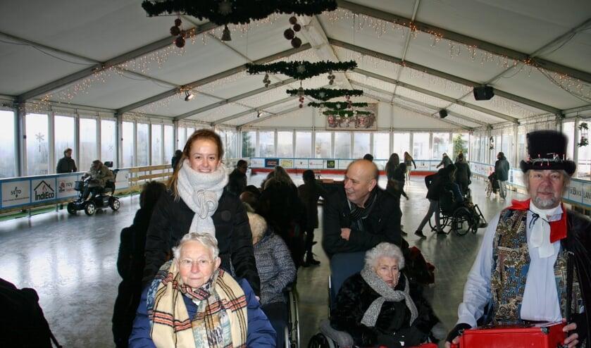Grijs op het IJs bij het IJsfestijn Boxmeer.