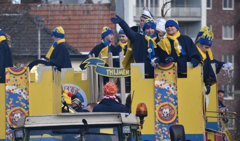 Carnaval in Oss. (Foto: Jo van Schaijk)